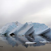 Statuesque iceberg in the Crystal Sound, Antarctic peninsula