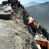 The crater rim of Mt Bromo on Yadnya Kasada.