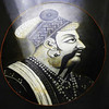 Detail of a past Maharajah in Jodphur, Rajastan India.
