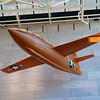 The Bell X-1 - the first plane to fly faster than the speed of sound at the Smithsonian Air & Space Museum in Washington DC
