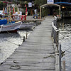Rustic jetty approach to Kekova, along the Lycian Way, Turkey