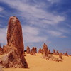 The Pinnacles north of Perth in Western Australia.
