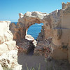 Ancient stone arch at Sabaratha, Libya
