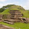 Topam ancient pyramidal ruins in El Salvador