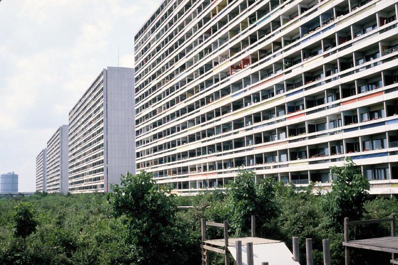Model architecture - public housing of the future outside Copenhagen, Denmark.