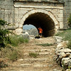 Entrance to the amphitheater in Letoon, along the Lycian way Turkey.