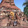 "A coincidental ""9"" appears on a visit to a temple in Thailand's ancient capital on Flip's 45th birthday: September 9th!"