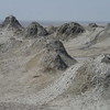 Mud volcanoes (natural gas vents) in Gobustan, south of Baku