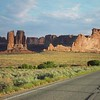 On the road to Canyonlands, Utah