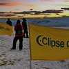 """Eclipse City"" installation for the total solar eclipse of 11 July 2010, atop the Cerro Huyliche plateau in Patagonia, Argentina"