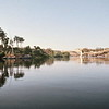 Serenity of the Nile in Aswan, Egypt.