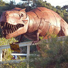 Jurassic reconstruction near Mendocino, California