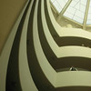 View of the Atrium at the Guggenheim in New York, New York, USA.