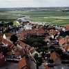 Prototypical village in the countryside of rural Jutland in Denmark.