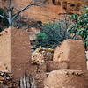 Hiking path up to a Doqgon village built under the escarpment in Mali, West Africa.