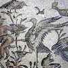 Feature Roman floor mosaics at sites in Tripoli Libya.