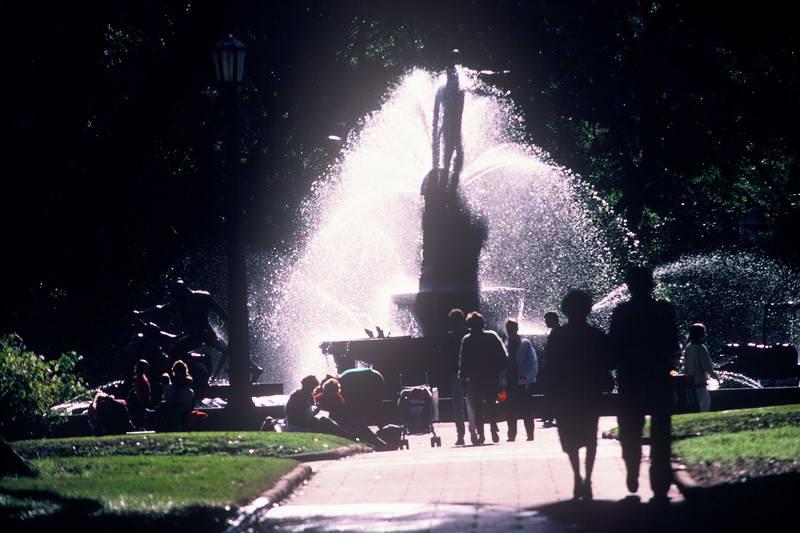 The fountains of Versailles in full force for La Fete de la Nuit
