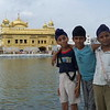Charismatic kids at the Golden Temple in Amritsar, India
