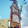 "The ""KIng"" at Sacsayhuanman during the Inti Raymi celebration in Cuzco, Peru"