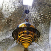 Chandelier detail form the grand fridady mosque in Damascus Syria.