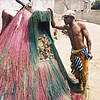 The Zhangbeto mask cleanses the village in Grand Popo,Benin.