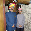 Palace on Wheels staff, Rajastan India.