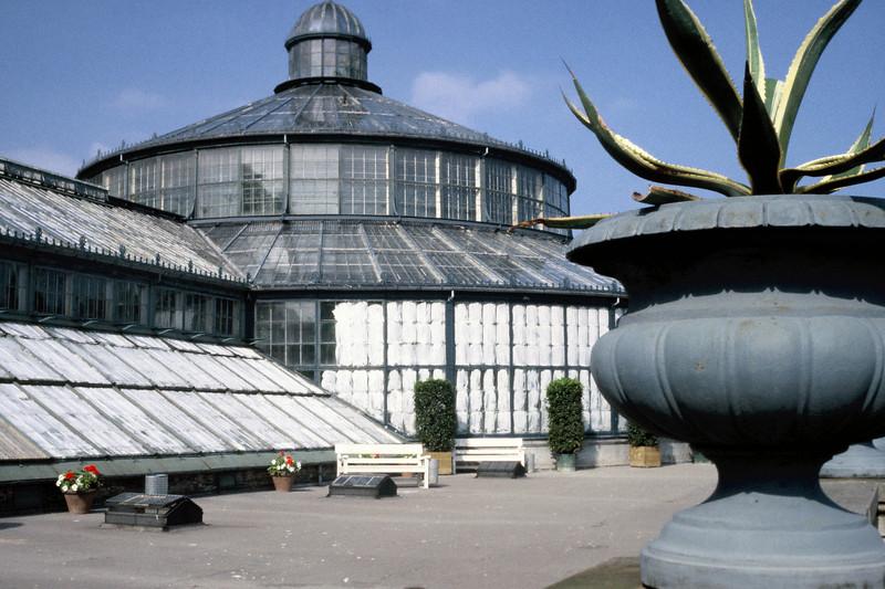 The glorious botanical gardens in the city parks of Copenhagen, Denmark.
