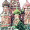 St Basil's in Red Square, Moscow Russia.