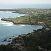Picturesque coastline in Cabo Verde, Santiago island, west of Praia.