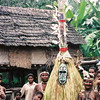 Village protector long the upper Sepik river, Papua New GUinea.
