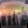Inspiring subway art in Pyongyang, North Korea.