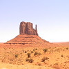 Prototypical Monument Valley formation in northern Arizona, USA.