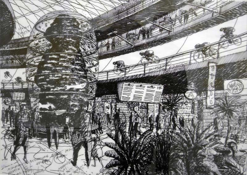Sketches from the 2009 Venice Architectural Biennale