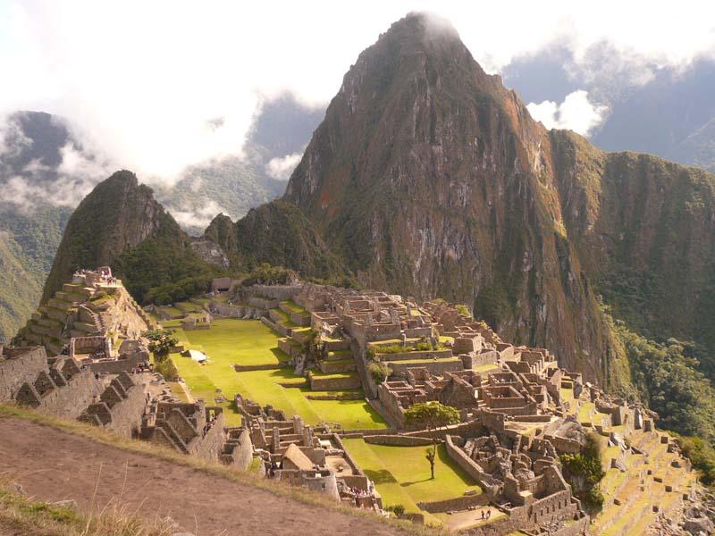 THe main plateau of Machu Picchu, Peru.