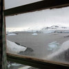 View from inside the UK's base W on Detaille Island, Antarctic peninsula