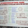 Logical plan of the Liberation museum in Pyongyang, Democratic People's Republic of Korea (north).