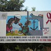 Words to the wise at the port in Bissau, Guinea Bissau.