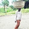 Basket Boy in Freetown, Sierra Leone.