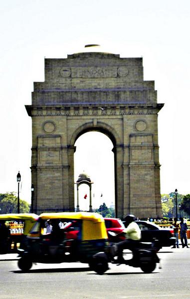 Delhi's Gateway to India.