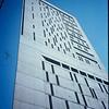 Iconic Chicago architecture - Federal Prison building; Chicago Illinois USA.