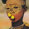 Decorated people of the Omo valley in Ethiopia.