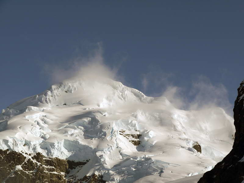 Towering mounts above Cuverville Island, mainland Antarctic peninsula