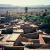 Overlooking the Kasbah of Ouarzazate, Morocco.
