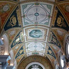 Ceiling detail in the Library of Congress, Washington DC