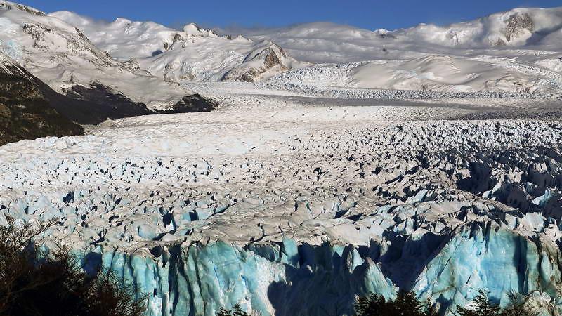 Perito Moreno glacier at Los Glaciares national park in Patagonia, Argentina