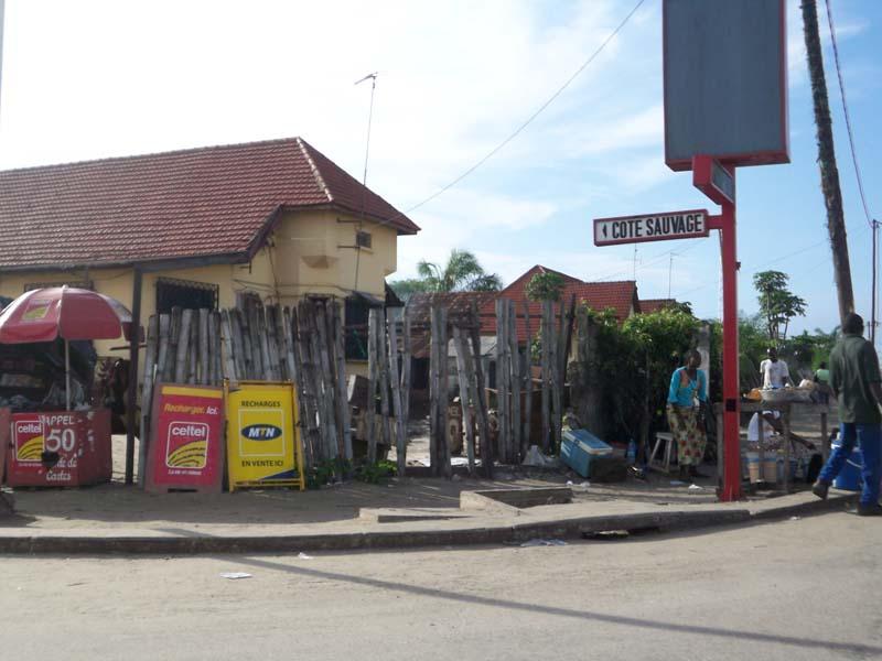 Cote Sauvage in Pointe Noire, Congo Brazzaville.