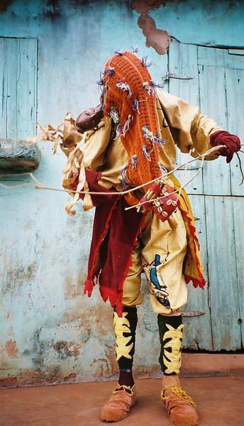 The Hunter, dance mask, Benin, West Africa