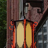 Lantern detail in Pioneer Square - Seattle, Washington