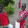 Junior Market Shoppers in Freetown Sierra Leone.