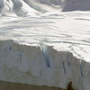 Calving glacier viewed from the top of the hill at Neko Harbour, Mainland Antarctic Peninsula